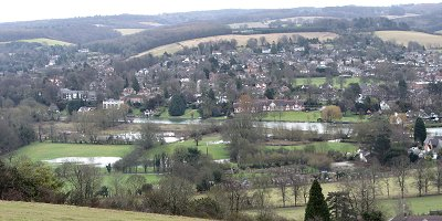 Streatley from above